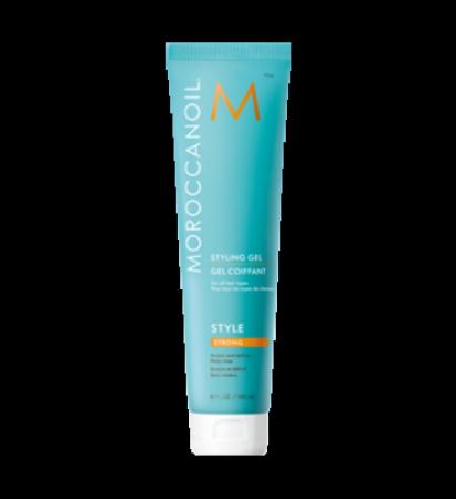 Moroccanoil styling gel forte è il gel che ti aiuterà a creare il wet look o a mantenere la tua piega liscia. Versatile e nutriente!