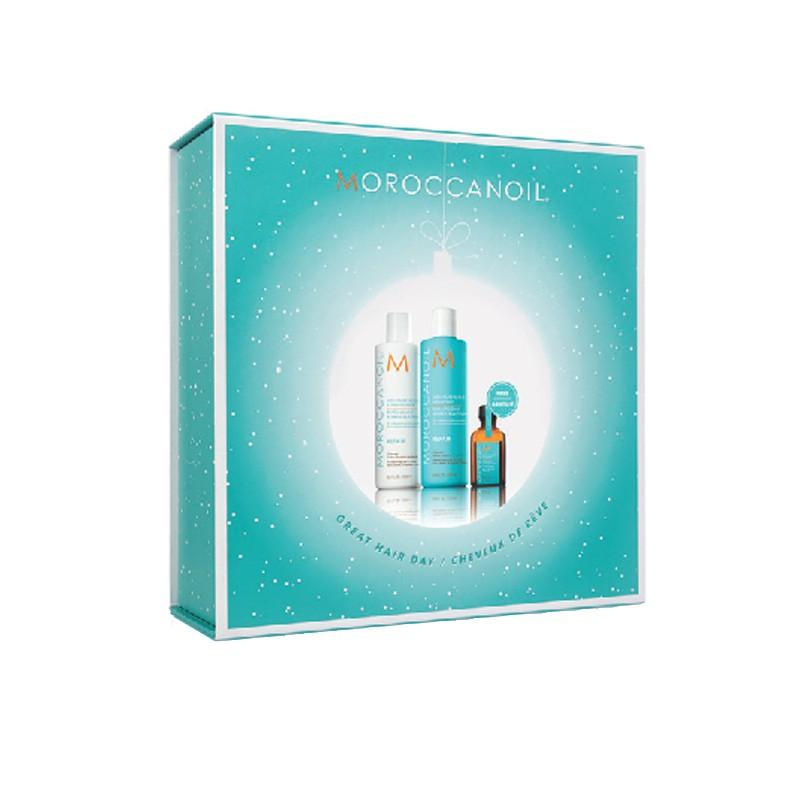Per capelli secchi e indomabili, regala (o regalati) Moroccanoil Christmas kit Hydrating!