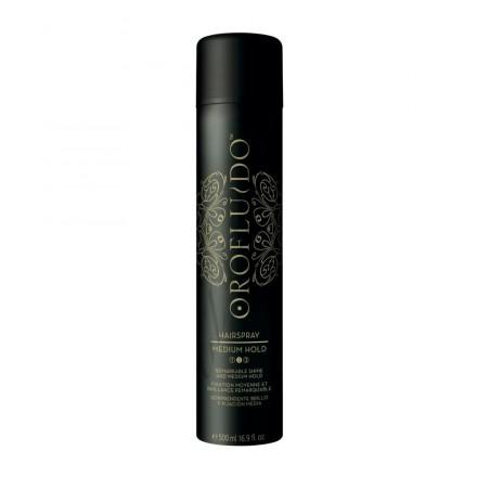 Una lacca per fissare la tua coda bassa per un look militare? Orofluido Hairspray, oltre a fissare i tuoi capelli li nutre!