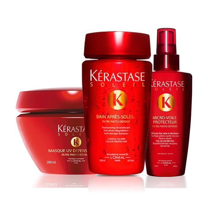 Preparati per la prova costume, ma non dimenticarti di proteggere i tuoi capelli dal sole! Prova Kit Soleil di Kerastase!