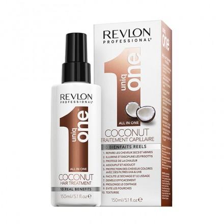 Cerchi un prodotto che faciliti la piega, lasci i capelli morbidi e li protegga dal calore? Uniq one coconut treatment è il prodotto che fa per te!!!