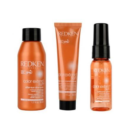 E cosa c'è di meglio di un kit di Redken? Color Extend sun proteggerà i tuoi capelli da sole e salsedine, per un look perfetto anche in vacanza!