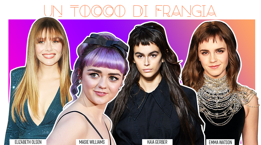 trend capelli primavera estate frangia