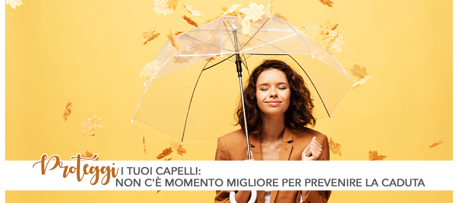 caduta capelli_ombrello protezione