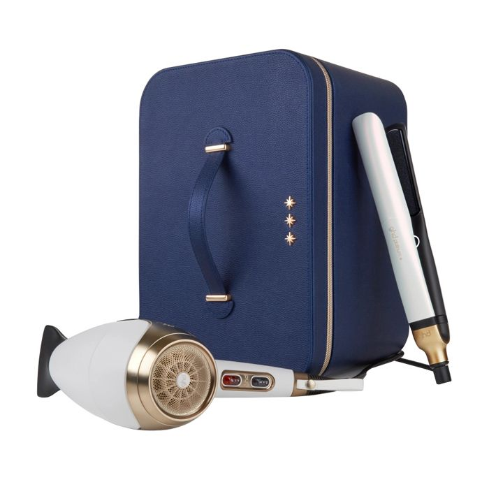 Ghd Deluxe Iridescent White Gift Set Wish Upon A Star Collection