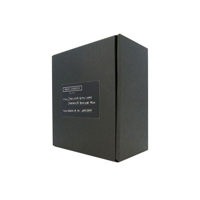 Mario Lorenzin Shower Box Uomo - Goccia di Carisma